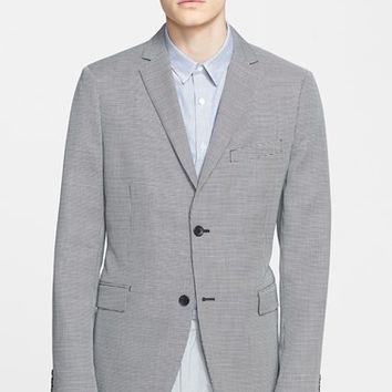 Men's Theory 'Wellar Wardale' Trim Fit Check Wool & Cotton Sport Coat
