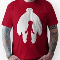 Baymax and Hiro (Big Hero 6) Unisex T-Shirt