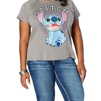 Plus Stitch High Low Tee