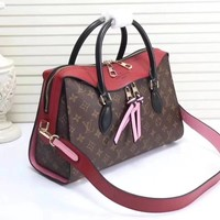 LV Handle Shoulder Bag