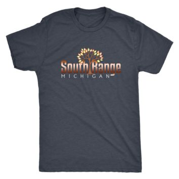 South Range Michigan Shirt - Fall Tree and Copper Color