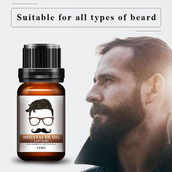 10ml Beard Essential Oil Moustache Styling Moisturizing Smoothing Gentlemen Care