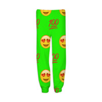 Lime Green Emoji created by trilogy-anonymous | Print All Over Me