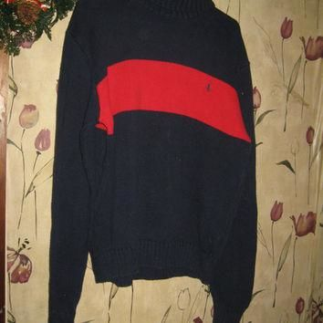 Vintage Polo Ralph Lauren turtleneck Sweater sz med
