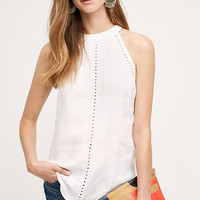 Linen Ladder Lace Tank