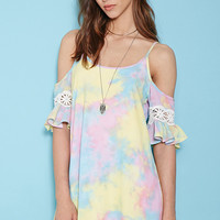 Rise of Dawn Get Together Tie-Dye Dress