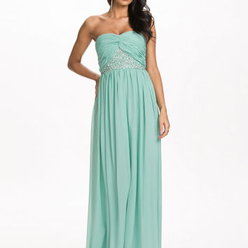Strapless Decor Dress, NLY Eve