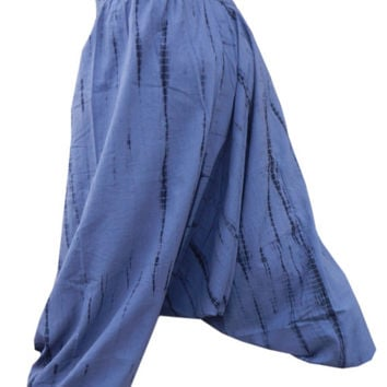 tie & dye harem pant ,drop crotch pant, Harem Pants, Hippy Hippie Pants , Boho Gypsy Pants , Genie Yoga Pants