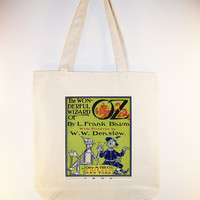 Vintage Wizard Of Oz Poster 1900 Tote  other tote by Whimsybags