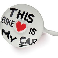 Dring Bike Bell - My Bike Is My Car - Whimsical & Unique Gift Ideas for the Coolest Gift Givers