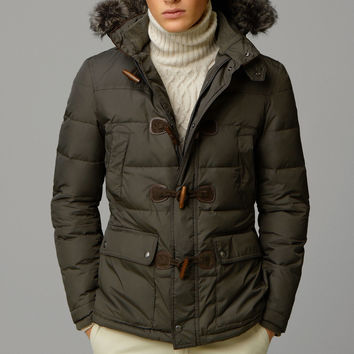 DOWN JACKET WITH A FUR-LINED HOOD - New - MEN - United States of America / Estados Unidos de América