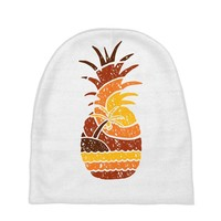 pineapple and beach Baby Beanies