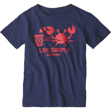 Live Simply Organic T-Shirt - Toddler Boys'