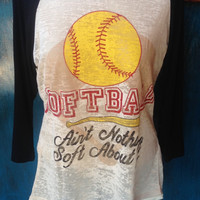 Softball: Ain't nothing soft about it