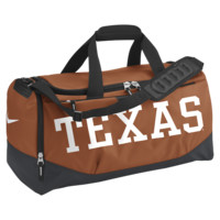 Nike Team Training Max Air (Texas) (Medium) Duffel Bag (Orange)