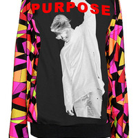 Purpose Justin Bieber Pucci Pattern Sweater Top