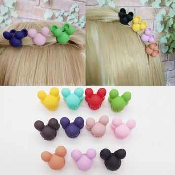 Candy Colors Baby Girls Hair Accessories Hair Clip Bangs Small Hair Claws Children Hairpin Small Gripper Toddler Kids Lovely