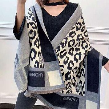 Givenchy New fashion more print warm scarf women