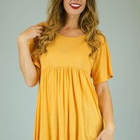 Faith Baby Doll Tunic Top