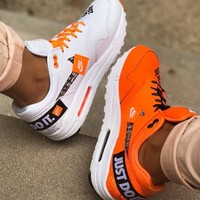 NIKE AIR MAX 1 LX JUST DO IT Sports women's running shoes