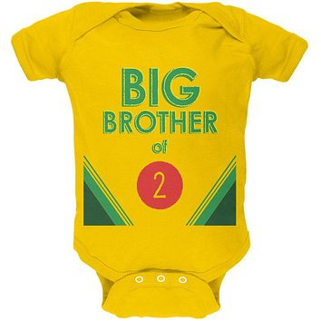 Crayon Big Brother of 2 Soft Baby One Piece