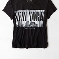 AEO Women's Soft & Sexy Baby T-shirt (True Black)