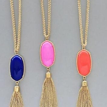 So Fetch Tassel Necklace - 3 Colors