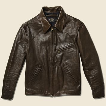 Morrow Leather Jacket - Brown