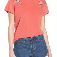 Wildfox Starbright Number 9 Tee | Nordstrom