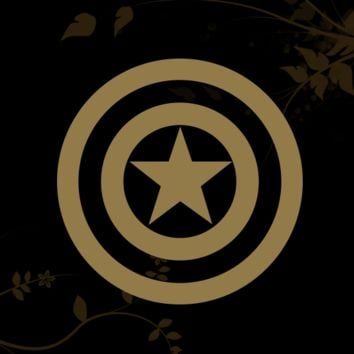 Captain America Decal for your Car, Walls, Laptops, iPhone, iPad and Water bottles.