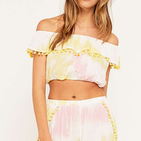 Little White Lies Rose Pom Pom Shorts - Urban Outfitters