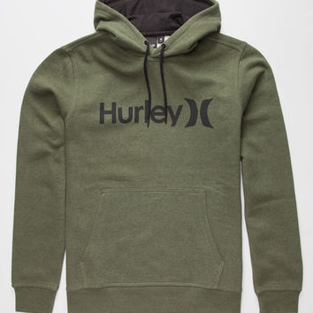 Hurley Surf Club One And Only Mens Hoodie Olive  In Sizes