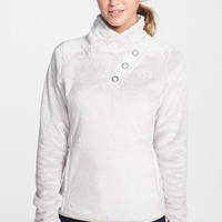 The North Face Women's 'Mossbud' Snap Neck Pullover ,