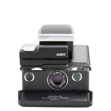 SLR670, limited edition enhanced vintage polaroid instant camera.