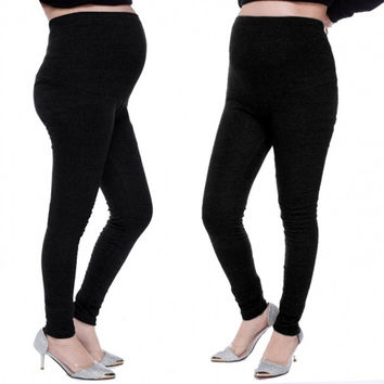 New Fashion Women's Maternity Pregnant Leggings Full Ankle Length
