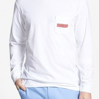 Men's Vineyard Vines Long Sleeve Pocket T-Shirt,