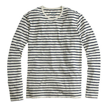J.Crew Mens Long-Sleeve Deck Stripe Tee