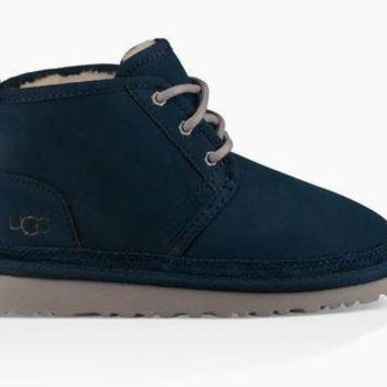 DCCKL8A jacklish UGG Junior's Navy Neumel 1006652