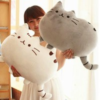 Lovely Pusheen cat Plush toy Novelty item soft plush doll pusheen cat for girls kids, kawaii,cute cushion brinquedos, birthday