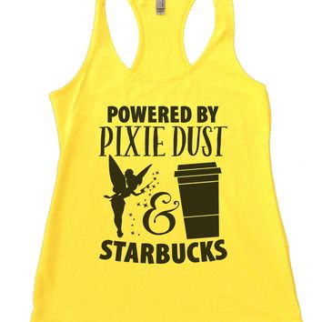 Powered by Pixie Dust & Starbucks Womens Workout Tank Top