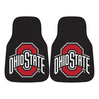 Ohio State Buckeyes NCAA Car Floor Mats (2 Front)