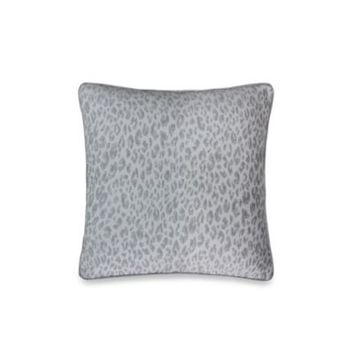 Vienna Decorative 18-Inch Square Toss Pillow in Light Grey