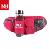 Naturehike Walking Running Cycling Waist Belt Packs For Smartphone key money Outdoor sports waist bag with Water Bottle Holder