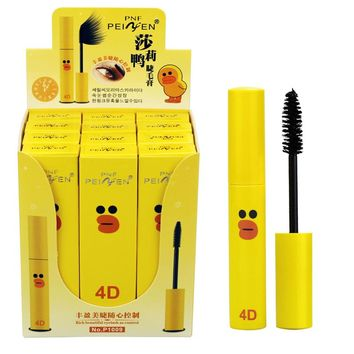 New Cute Eyes Makeup 4d Black Natural Curling Mascara Cosmetic Fast Dry Eyelash Lengthening Mascara Waterproof