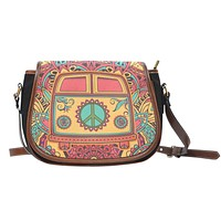 Hippie Van Saddle Bag