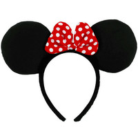 Minnie Mouse Ears Headband Accessory
