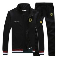 Men's Tracksuit With Stand-Collar