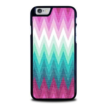 OMBRE PASTEL CHEVRON Pattern iPhone 6 / 6S Case Cover