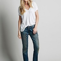 Free People Womens Monaghan Relaxed Skinny -