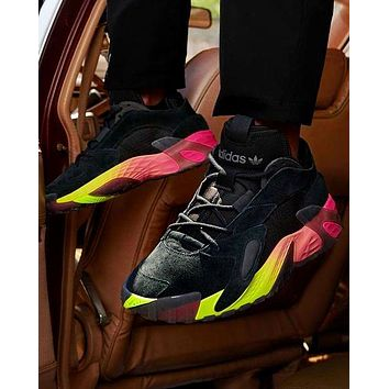 ADIDAS STREETBALL Daddy shoes Contrast Sneakers Muilt-color soles